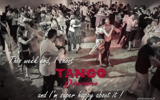 Ce week-end, je shoot officiellement le Tango Devoradores Marathon !