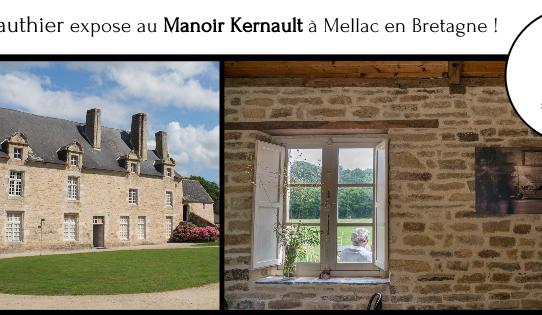 Exposition au Manoir Kernault